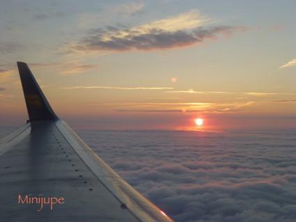 islande,keflavik,aéroport,soleil de minuit,icelandair