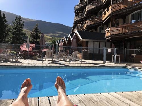 les 2 alpes,hotel,adret