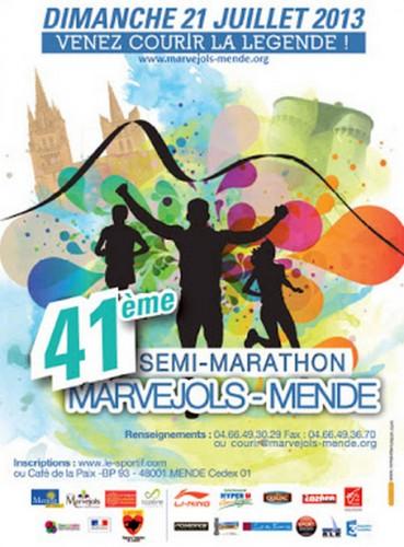marvejols-mende,course à pied,semi-marathon,lozère,millau,plaisir,soleil,ambiance